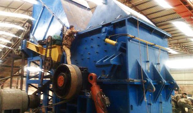 PC-2020型废钢破碎生产线