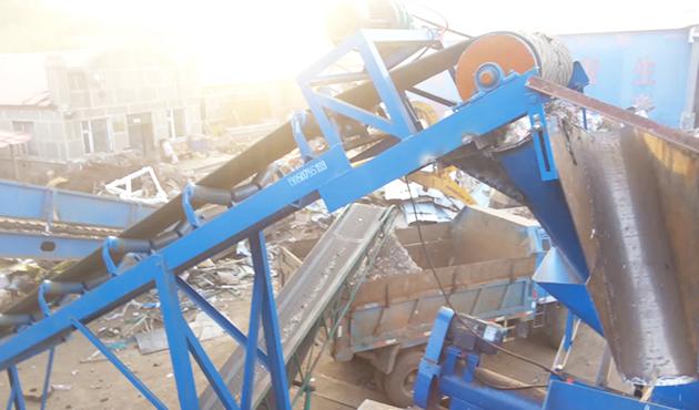 PC-1715废钢破碎生产线