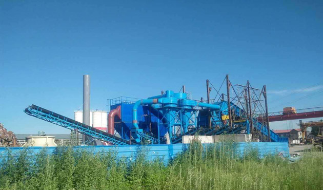 PC-2022废钢破碎生产线