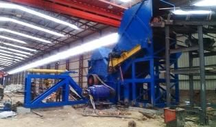 内蒙古大型金属破碎生产线