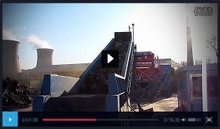 大型金属破碎生产线