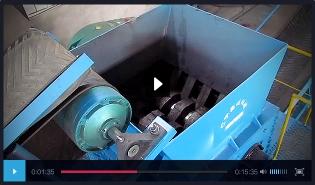 大油桶撕碎机