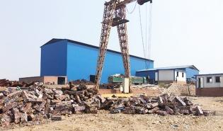 废钢破碎生产线