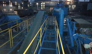废钢破碎工业垃圾分选线